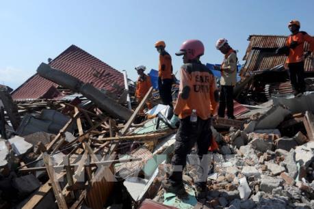 Động đất, sóng thần tại Indonesia: Báo cáo thiệt hại tiếp tục tăng lên