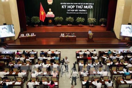Thành phố Hồ Chí Minh thông qua nhiều nội dung quan trọng