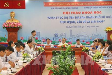 Quan tâm đến mở rộng không gian đô thị Thành phố Hồ Chí Minh