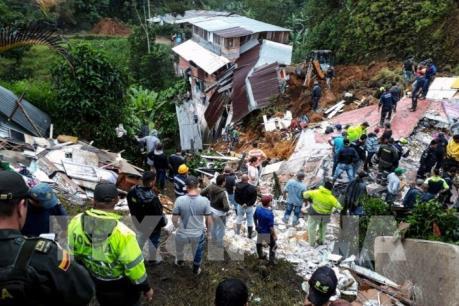 Hàng chục người Colombia thiệt mạng do sạt lở đất