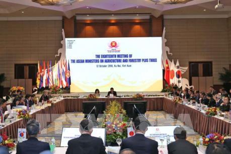 Khai mạc Hội nghị Bộ trưởng Nông Lâm nghiệp ASEAN+3 lần thứ 18