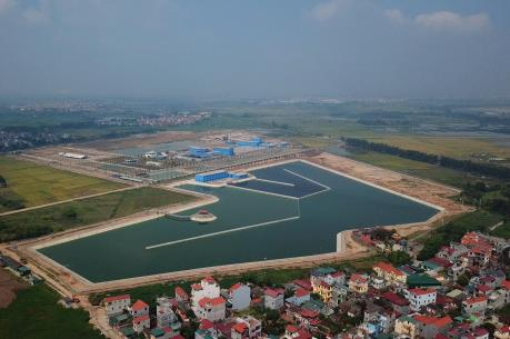Hà Nội đưa vào sử dụng Nhà máy nước sạch lớn nhất miền Bắc