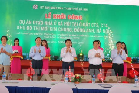 Hà Nội sẽ có thêm 1.588 căn hộ cho người thu nhập thấp