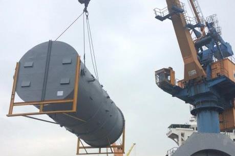 Lilama 69-1 sắp xuất khẩu lô hàng đợt 3 sang Uzbekistan