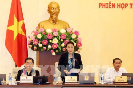 Khai mạc Phiên họp thứ 28 của Uỷ ban Thường vụ Quốc hội