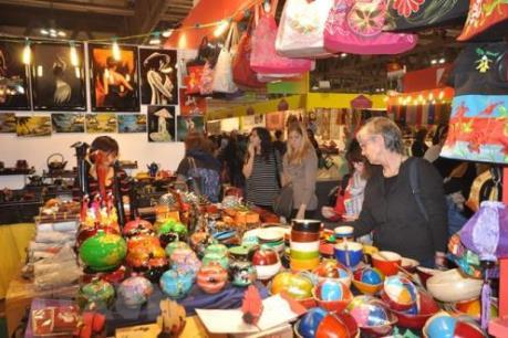 Hội chợ quốc tế quà tặng hàng thủ công mỹ nghệ Hà Nội kéo dài đến 20/10