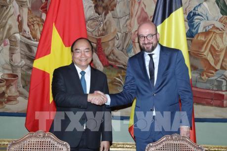 Thủ tướng Bỉ ủng hộ việc sớm ký và phê chuẩn EVFTA