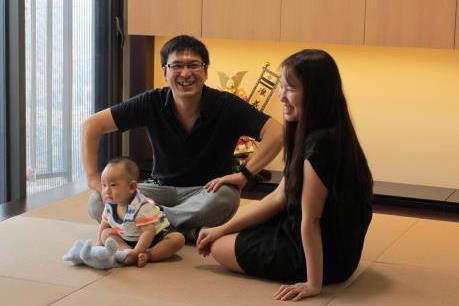 Ấn tượng với nội thất và kiến trúc Nhật trong căn hộ giữa lòng Hà Nội