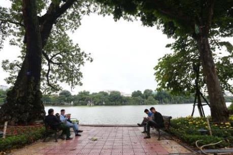 Hôm nay, Hà Nội nhiều mây, có mưa vài nơi