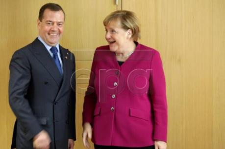Nga và Đức thảo luận về dự án đường ống dẫn khí Dòng chảy phương Bắc 2