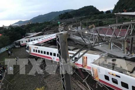 Công bố nguyên nhân vụ tai nạn đường sắt ở Đài Loan (Trung Quốc)