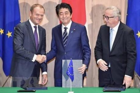 Nhật Bản và EU sẽ hoàn tất phê chuẩn FTA vào tháng 3/2019