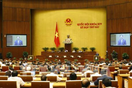 Quốc hội nghe tờ trình về dự án Luật Kiến trúc