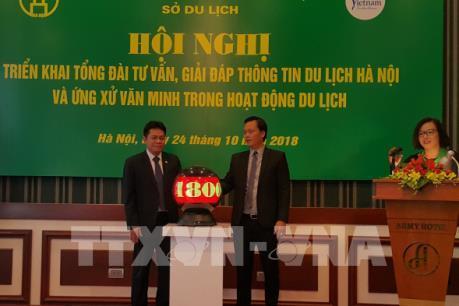 Tổng đài tư vấn, giải đáp thông tin du lịch Hà Nội