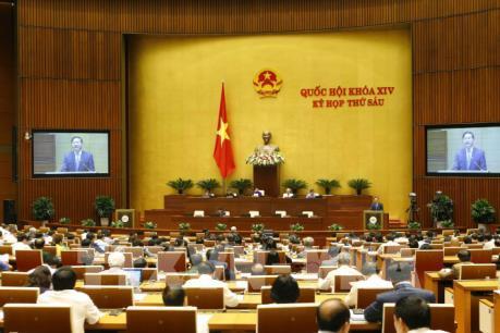Bỏ phiếu tín nhiệm 48 người giữ các chức danh do Quốc hội bầu hoặc phê chuẩn