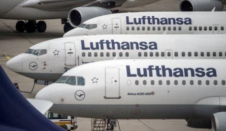 Lợi nhuận của Lufthansa sụt giảm