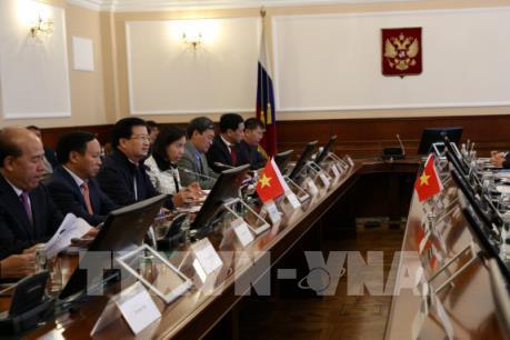 Tập đoàn Đường sắt Nga RZD quan tâm hợp tác với Việt Nam