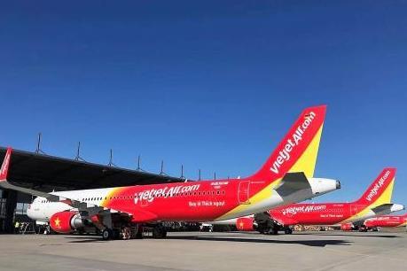 Vietjet Air ngừng khai thác một số chuyến bay tại Huế do thời tiết