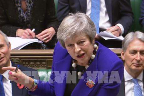Thủ tướng Anh tìm kiếm ủng hộ đối với kế hoạch Brexit