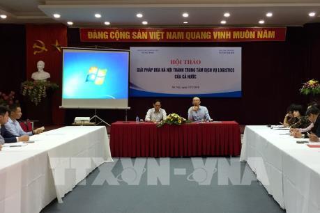 Giải pháp phát triển dịch vụ logistics ở Hà Nội
