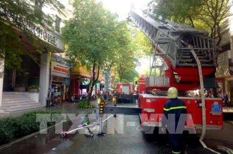 Cháy khách sạn A&E ở Thành phố Hồ Chí Minh