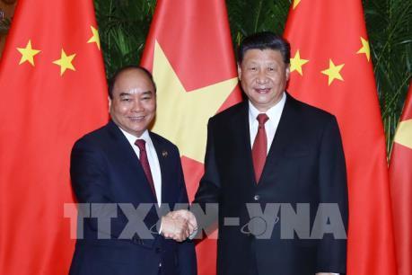Thủ tướng Nguyễn Xuân Phúc: Việt Nam, Trung Quốc không ngừng củng cố quan hệ