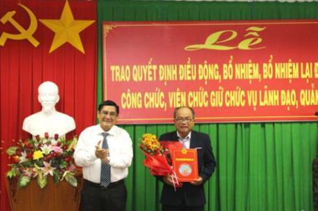 Nhân sự mới TPHCM, Bến Tre, Nam Định, Quảng Trị