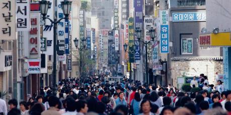 KDI hạ dự báo tăng trưởng kinh tế Hàn Quốc