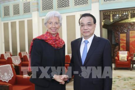 IMF và Trung Quốc chia sẻ quan điểm về thương mại tự do