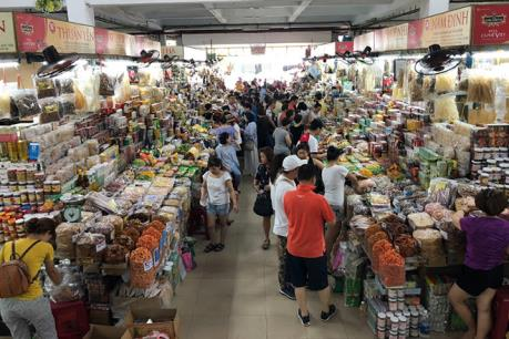 Đà Nẵng dán tem QR Code thí điểm một số thực phẩm tại chợ Hàn