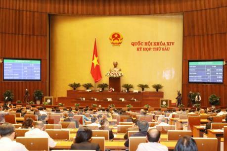 Quốc hội  thông qua dự toán ngân sách nhà nước năm 2019