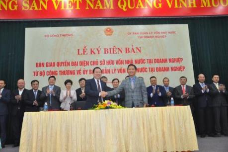 Bộ Công Thương bàn giao 6 tập đoàn, Tổng công ty về UBQLVNN