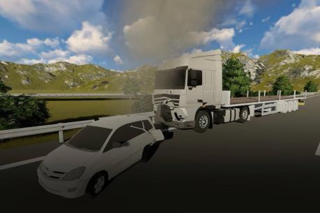 Vụ container đâm Innova lùi trên cao tốc: TANDTC họp tham vấn