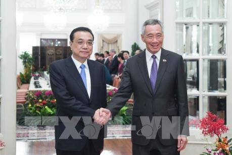 Trung Quốc và Singapore ký 11 bản ghi nhớ hợp tác song phương