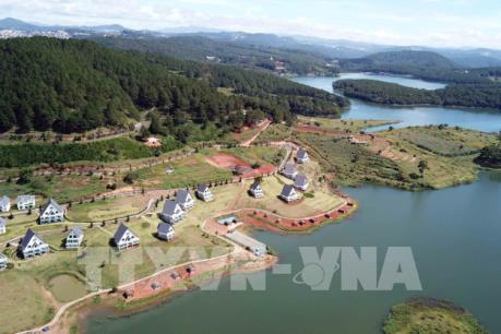 UBND tỉnh Lâm Đồng chỉ đạo xử lý vi phạm tại Khu du lịch quốc gia hồ Tuyền Lâm