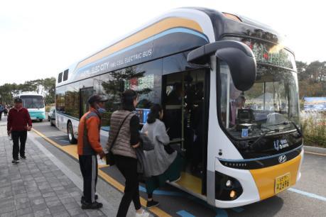 Seoul bắt đầu thí điểm xe buýt chạy bằng hydro