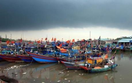 Bão số 9 sẽ gây gió giật cấp 9 ở vùng biển các tỉnh từ Quảng Trị đến Bình Thuận
