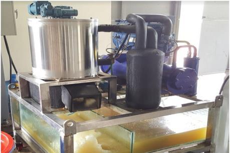 Việt Nam lần đầu tiên chế tạo thành công máy làm đá tuyết từ nước biển