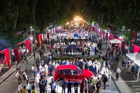 Xe VinFast tiếp tục hành trình xuyên Việt