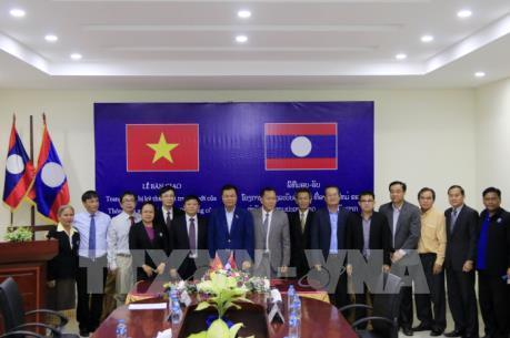 TTXVN - KPL, cầu nối giúp vun đắp và gìn giữ quan hệ đặc biệt Việt Nam-Lào