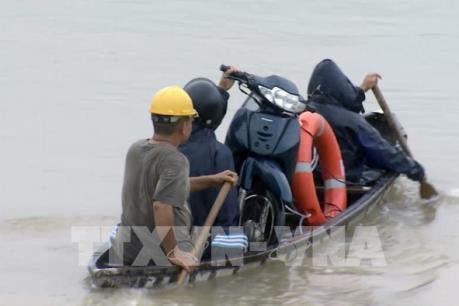 Mưa lớn gây ngập cục bộ nhiều nơi tại Phú Yên