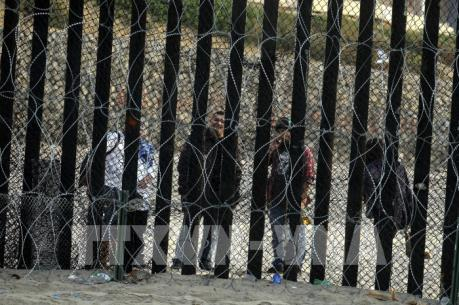 Số hộ gia đình di cư bị bắt tại biên giới Mỹ - Mexico lên mức kỷ lục