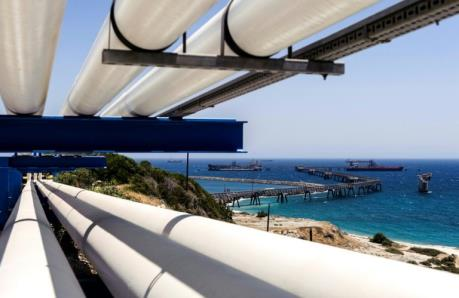 Tiến gần thỏa thuận xây đường ống dẫn khí dưới biển dài nhất thế giới