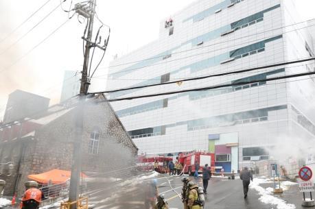 Khắc phục sự cố mạng viễn thông do hỏa hoạn ở Seoul