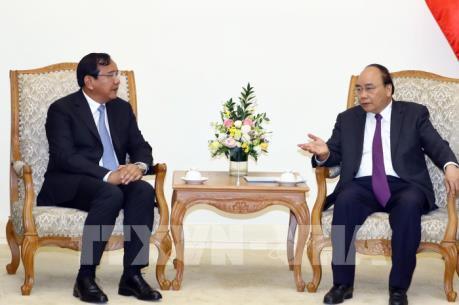 Thủ tướng Nguyễn Xuân Phúc tiếp Phó Thủ tướng Vương quốc Campuchia