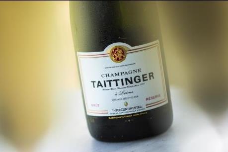 Champagne Taittinger Brut Réserve là champagne chính thức cho Club InterContinental