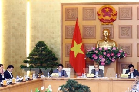 Thủ tướng Nguyễn Xuân Phúc chủ trì phiên họp thường trực Chính phủ