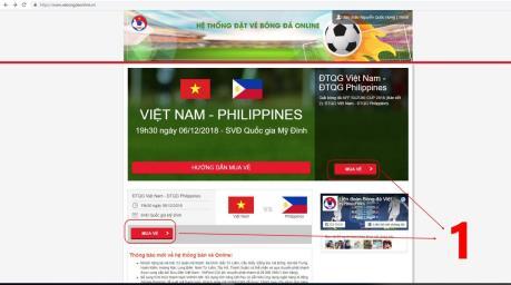 'Khổ' vì trang web bán vé online của VFF sập hàng loạt