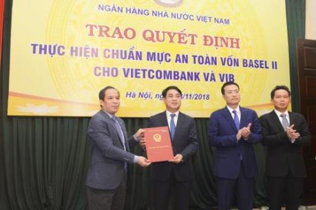 Vietcombank là ngân hàng đầu tiên đáp ứng chuẩn Basel II
