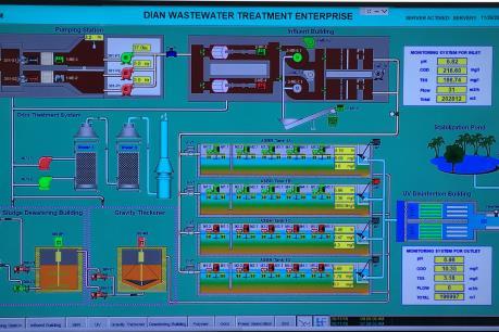 Bình Dương khánh thành nhà máy xử lý nước thải Dĩ An
